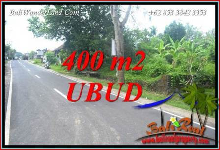 FOR sale 400 m2 Land in Ubud Bali TJUB725