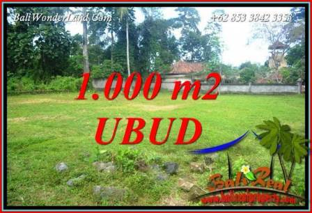 Magnificent Property 1,000 m2 Land in Ubud Pejeng for sale TJUB728