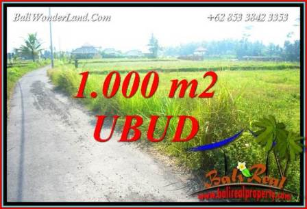 Beautiful Ubud Land for sale TJUB739