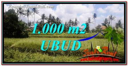 Exotic PROPERTY Ubud Pejeng 1,000 m2 LAND FOR SALE TJUB754