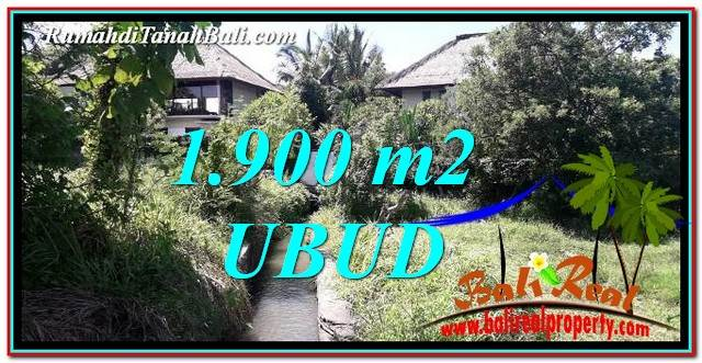 Exotic PROPERTY LAND IN UBUD BALI FOR SALE TJUB759
