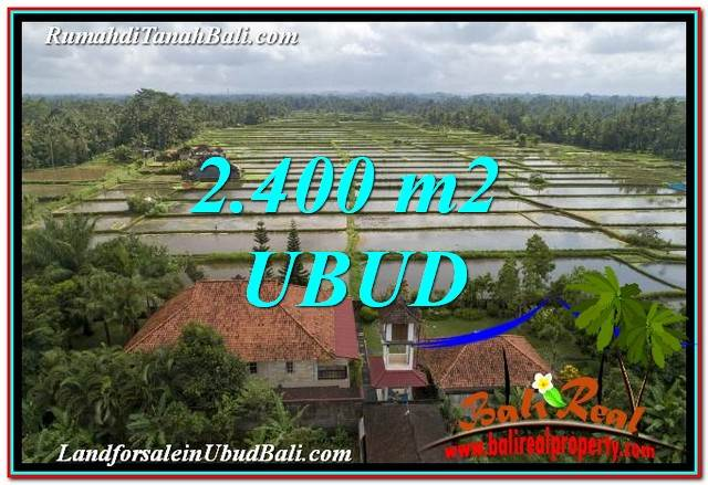 Magnificent PROPERTY LAND SALE IN UBUD TJUB761