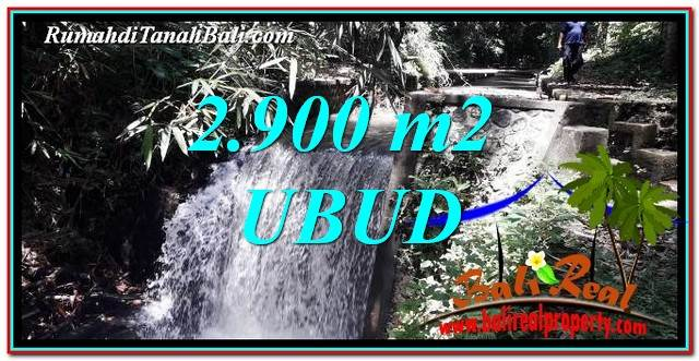 Magnificent 2,900 m2 LAND SALE IN UBUD BALI TJUB762