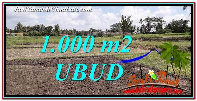 FOR SALE Affordable PROPERTY LAND IN UBUD TJUB765