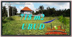 FOR SALE Affordable PROPERTY 718 m2 LAND IN Sentral Ubud TJUB767