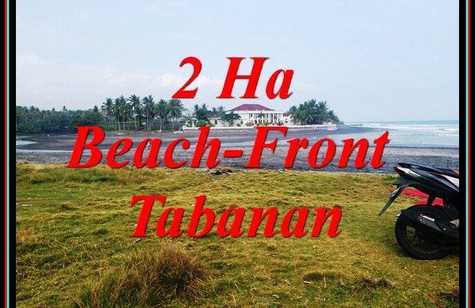 FOR SALE Affordable PROPERTY 20,000 m2 LAND IN KERAMBITAN TABANAN BALI TJTB490