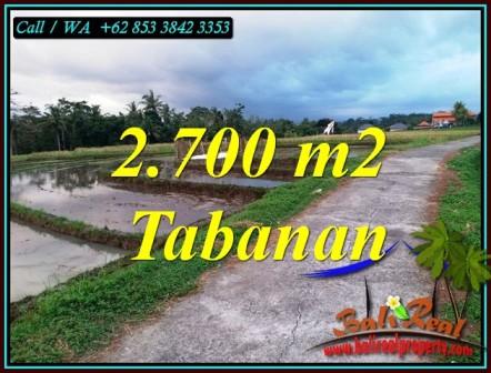 FOR SALE Beautiful LAND IN TABANAN BALI TJTB460