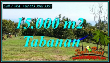 Magnificent PROPERTY 15,000 m2 LAND SALE IN TABANAN TJTB472