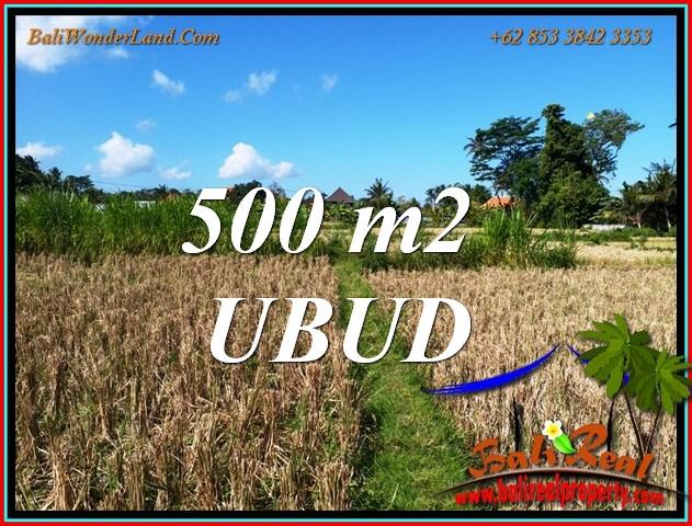 FOR SALE 500 m2 LAND in Sukawati Gianyar TJUB810